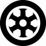 Icon Wheel Rad Sports Symbol Rueda Icono