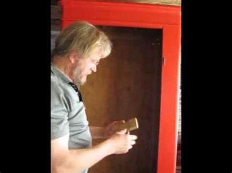 How To Assemble An Antique Danish Armoire Youtube