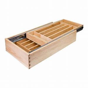 Nested Silverware Cutlery Drawer - All Cabinet Parts