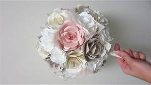 DIY Wedding Bouquet Paper Flowers From Start To Finish