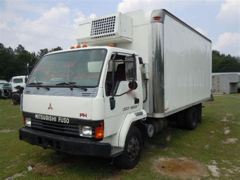 Mitsubishi Box Trucks by Mitsubishi Fuso Fh 1995 Refrigerated Box Truck Used
