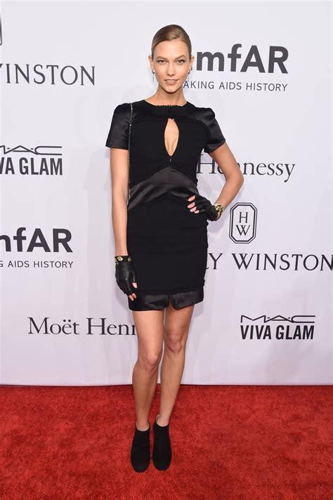 Karlie Kloss Amfar New York Gala Red Carpet Dresses