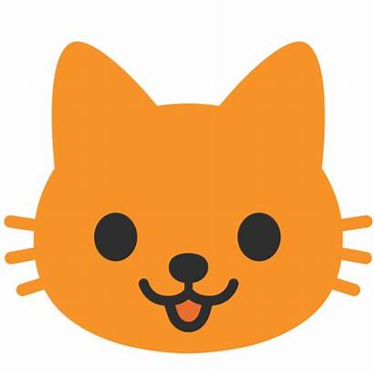 Emoji Gato Cat Svg Android Face Datei