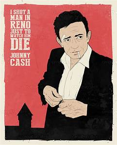Johnny Cash Poster : johnny cash poster by dustin pipkins ~ Buech-reservation.com Haus und Dekorationen