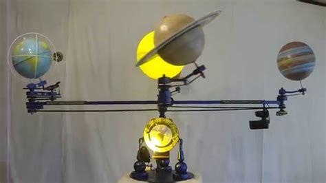 maquette du syst 232 me solaire
