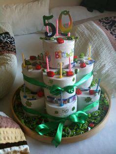 klopapier torte geburtstagsgeschenk basteln