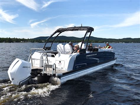 Pontoon Boats In Canada aluminum pontoon boats for sale princecraft canada