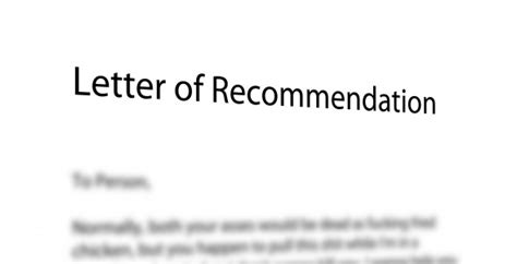 tips   powerful letters  recommendation
