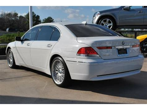 car owners manuals for sale 2005 bmw 760 free book repair manuals george foreman s 2005 bmw 760li hits the market german cars for sale blog