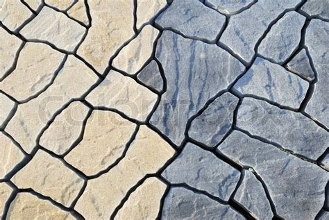 abstract background paving consisting  irregular stones