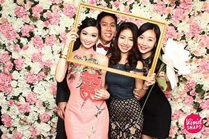 Wedding Instant Photo Booth Singapore Vivid With Love