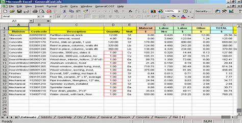 construction punch list worksheet