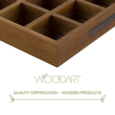 woodart wooden capsule storage single serve coffee pod
