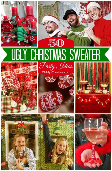 ugly christmas sweaters   creative