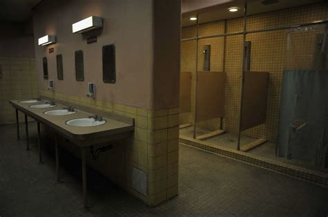 Prison Shower 1 by 13 Things Free Women Take For Granted 1 Taking A Shower