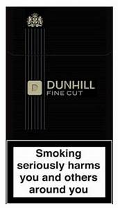 Buy Discount 2 Cartons Dunhill Fine Cut Black Cigarettes