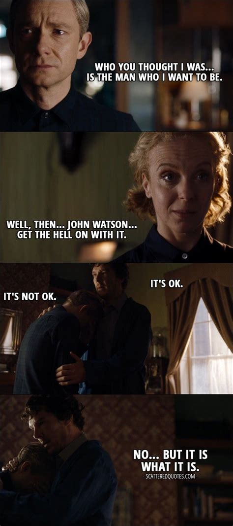 sherlock quotes watson mary john detective lying holmes want thought quote bbc funny scatteredquotes know hell season 4x02 scattered ok