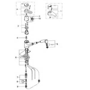 grohe eurostyle 33 871 pull out kitchen faucet parts