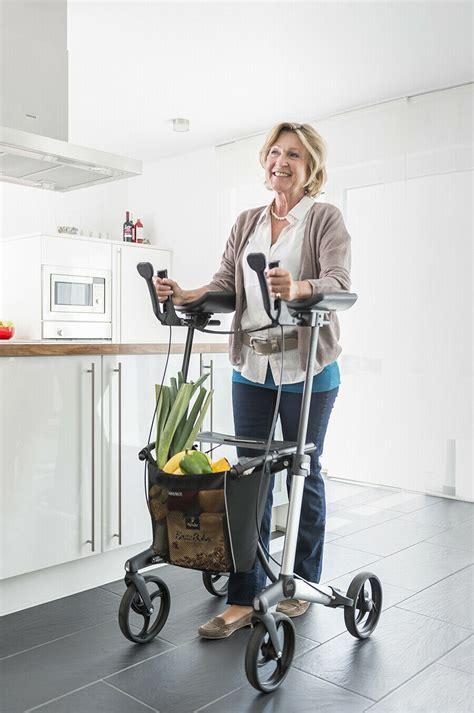 walker upright upwalker mobility rollator walking lightweight wheel aid