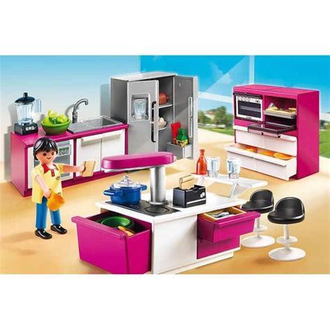 playmobil 5582 cuisine avec îlot achat vente univers