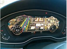 Audi Virtual Cockpit Brings HighTech Functionality to Drivers