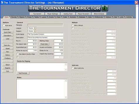 Software di Poker per Tornei - The Tournament Director ...
