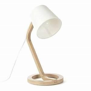 Lampe Chevet Scandinave : lampes chevet design lampe a poser scandinave en chane et coton h41cm lampes de chevet design ~ Teatrodelosmanantiales.com Idées de Décoration