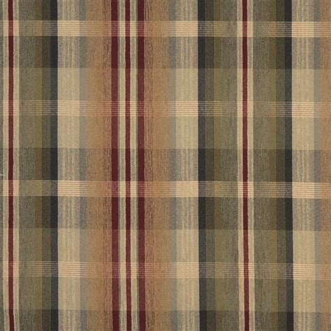 plaid upholstery fabric f152 and beige plaid chenille upholstery grade fabric