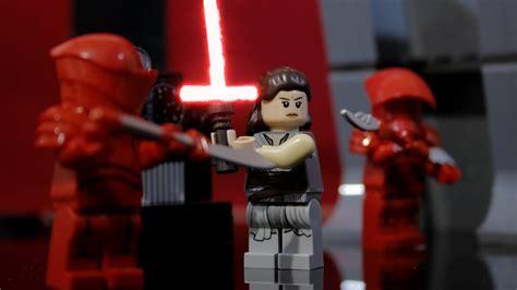 Lego Star Wars Snokes Throne Room Scene Stop Motion Part