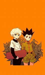 Killua Zoldyck and Gon Freecss Wallpaper | Hunter anime ...