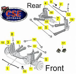 Shop By Diagram - Replacement Suspension Parts
