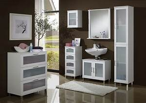 Meuble Haut De Salle De Bain : meuble haut de salle de bain contemporain blanc 1 porte campos ~ Louise-bijoux.com Idées de Décoration