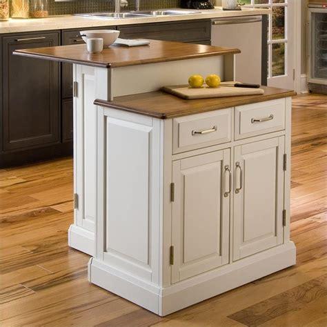 woodbridge  tier kitchen island  white  oak