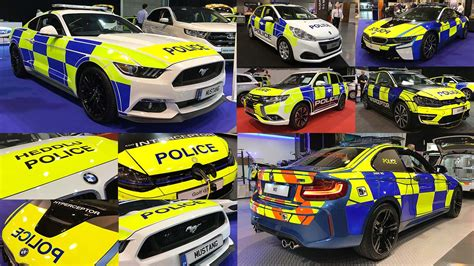 Britain's Wildest New Police Cars Revealed