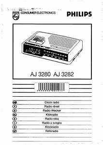 Philips Clock Radio Aj 3280 User Guide