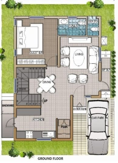 duplex house plan sqft east facing small house design modern duplex house design