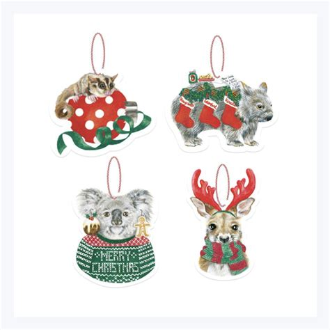 australian christmas ornaments animals   call