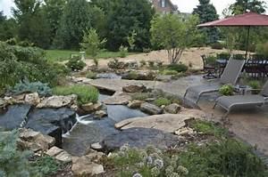 50 photos de bassin de jardin dans tous les styles With idees d amenagement de jardin 18 tables basses modernes 47 idee de salon contemporain