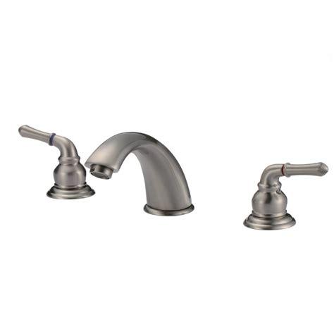 designer bathroom faucets knightsbridge widespread contemporary bathroom faucet