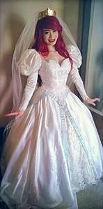 ariel wedding dress cosplay by mayumi loves sora on deviantart With ariel wedding dress
