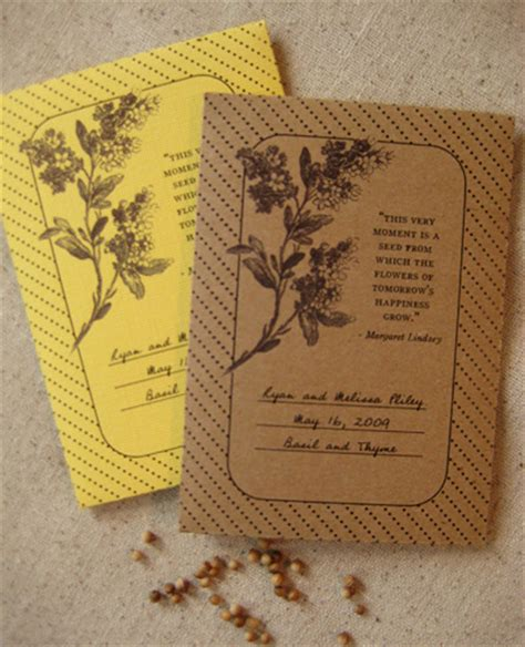 wildflower packet seed favorsplantable seed wedding favors wedding