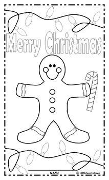 free christmas glyphs for fourth grade gingerbread glyph activity free by hofmann 1st grade