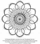 Designs Mandala Coloring Pages Printable Adults Adult Sheets Easy Young Relaxing Mandalas Cool Detailed Drawing Flower Fun Templates Simple Colouring sketch template