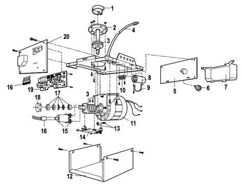 garage door parts supply liftmaster 1345 1355 garage door opener parts