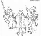Narnia Chronicles Coloring Pages Susan Lucy Gifts Wardrobe Printable Edmund сoloring Template Getcoloringpages Three Them Faun Colorator sketch template