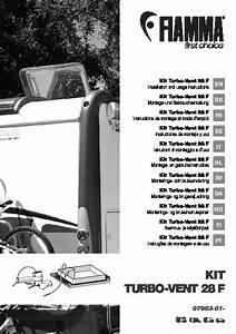 Installation And Instruction Manual Kit Turbo