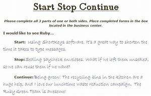 start stop continue template - start stop continue feedback examples google search