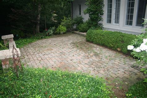weeds in brick paver patio joints il brick
