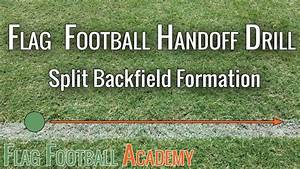 Flag Football Handoff Drill