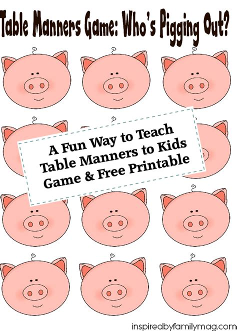 billy lai table manners this is part of the manners belt a fun way to teach table manners to kids free printable